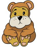 Brown Little Bear Stock Photo
