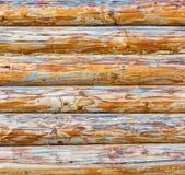 Brown log wood stock photo