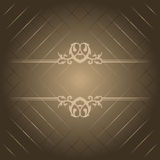 Brown luxury background Royalty Free Stock Photography