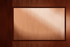 Golden brown luxury border background Stock Images