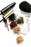 Brown Make Up Royalty Free Stock Photography