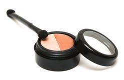 Brown make-up eyeshadows Royalty Free Stock Images