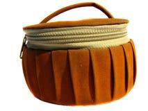 Brown Makeup Bag Stock Image