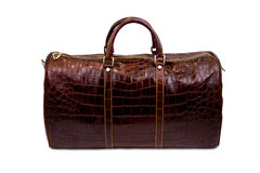 Brown male bag-1 Royalty Free Stock Photos