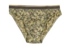 Brown Man's Underwear Stock Photo