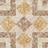 Brown marble mosaic texture. Stock Images