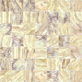 Brown marble mosaic texture. Royalty Free Stock Photo