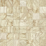 Brown marble mosaic texture. Royalty Free Stock Photos