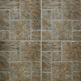 Brown marble-stone mosaic texture Stock Photos