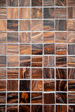 Brown marble tiles Stock Photo