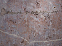 Brown marble tiles weathered Royalty Free Stock Image