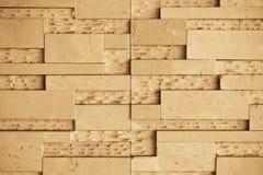 Brown marmuru ściana obrazy stock