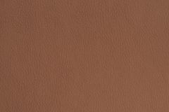 Brown Colored Leather Texture Background Stock Photo