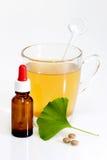 Brown medicine bottle Stock Images