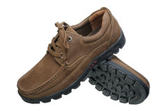 Brown men shoes Royalty Free Stock Photo