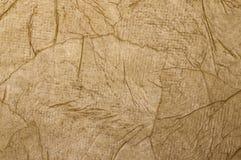 Brown mennicy papier dla tła i tekstury w górę obrazy stock