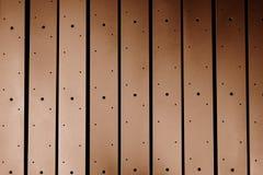 Brown metal lath Royalty Free Stock Image