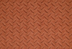 Brown metal plate background Royalty Free Stock Photography