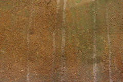 Brown metal rusty texture. brutal background in greyish-brown tints. Stock Photography