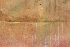 Brown metal rusty texture. brutal background in greyish-brown tints. Stock Images