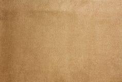 Brown-Mikrofaser-Hintergrund Lizenzfreie Stockfotos