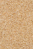 Brown Minute Rice. Brown Instant Minute rice close-up Royalty Free Stock Photo