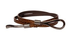 Brown modern belt Stock Photos