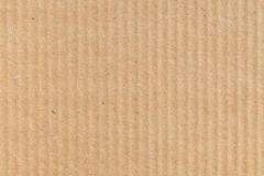 Brown modern cardboard closeup background texture Stock Photography