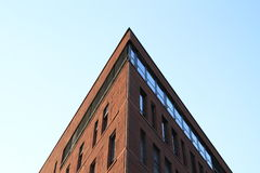 Brown modern office building Royalty Free Stock Image