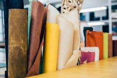 Brown morwy papieru tekstury tło Zdjęcie Royalty Free