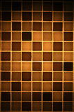 Brown mosaic Stock Image