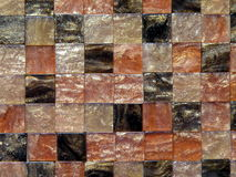 Brown mosaic Royalty Free Stock Photography