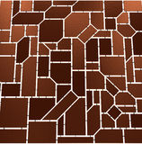 Brown mosaic Royalty Free Stock Images