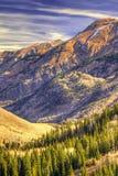 Brown Mountain. Near SIlverton, Colorado Royalty Free Stock Image