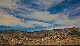 Mountains Death Valley royalty free stock photography