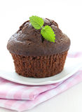 Brown muffin Royalty Free Stock Image