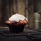 Brown-Muffin Stockfotografie
