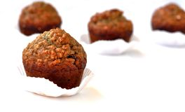 Brown muffins 0027 Stock Image