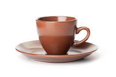 Brown mug Royalty Free Stock Photo