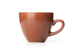 Brown mug Stock Photography