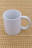 Brown mug Stock Image