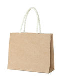 Brown mulberry paper bag Royalty Free Stock Photo