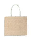 Brown mulberry paper bag Stock Photos