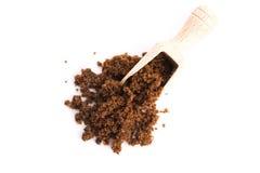 Brown muscovado sugar Stock Image