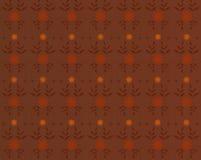 Brown-nahtloser Damasthintergrund vektor abbildung