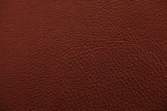 Brown nappa leather Royalty Free Stock Photography