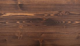 Brown natural wood texture. Brown natural board wood texture zoom photo royalty free stock images