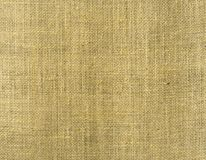 Brown natural fabric linen texture. For design, sackcloth textured for Background Royalty Free Stock Photos