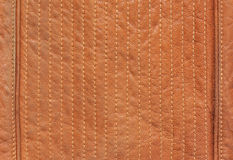 Brown natural leather Royalty Free Stock Photo