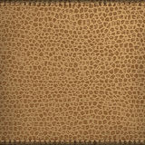 Brown natural leather texture Royalty Free Stock Images